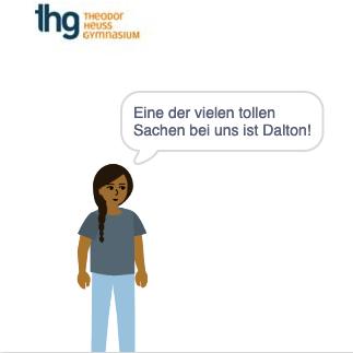Eine der vielen tollen Sachen bei uns ist Dalton!